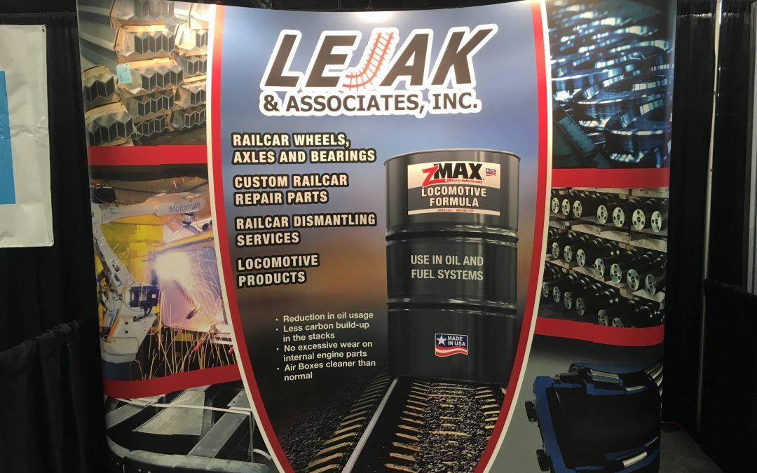 Visit the LEJAK team at Railway Interchange 2019!